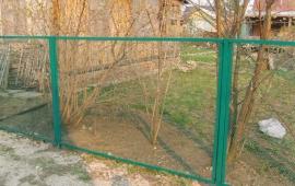 рабица сетка забор секционный